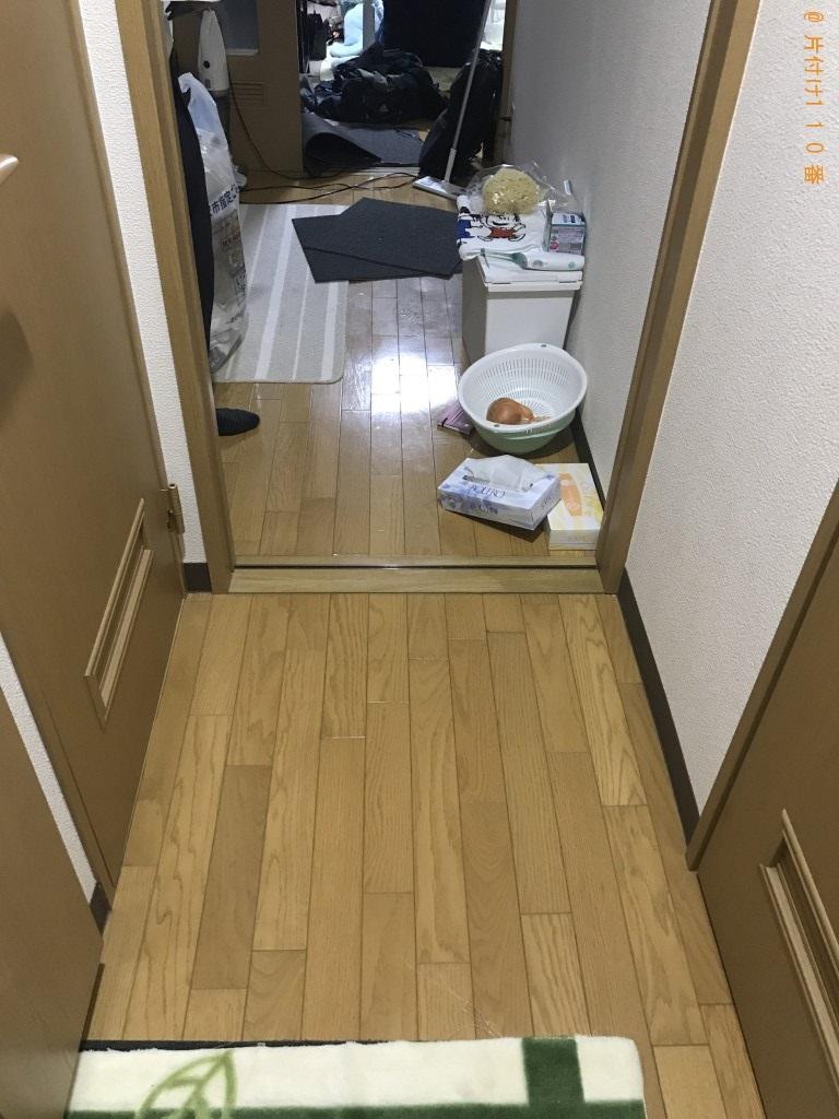 【金沢市】メタルラック等の出張不用品回収・処分ご依頼 お客様の声