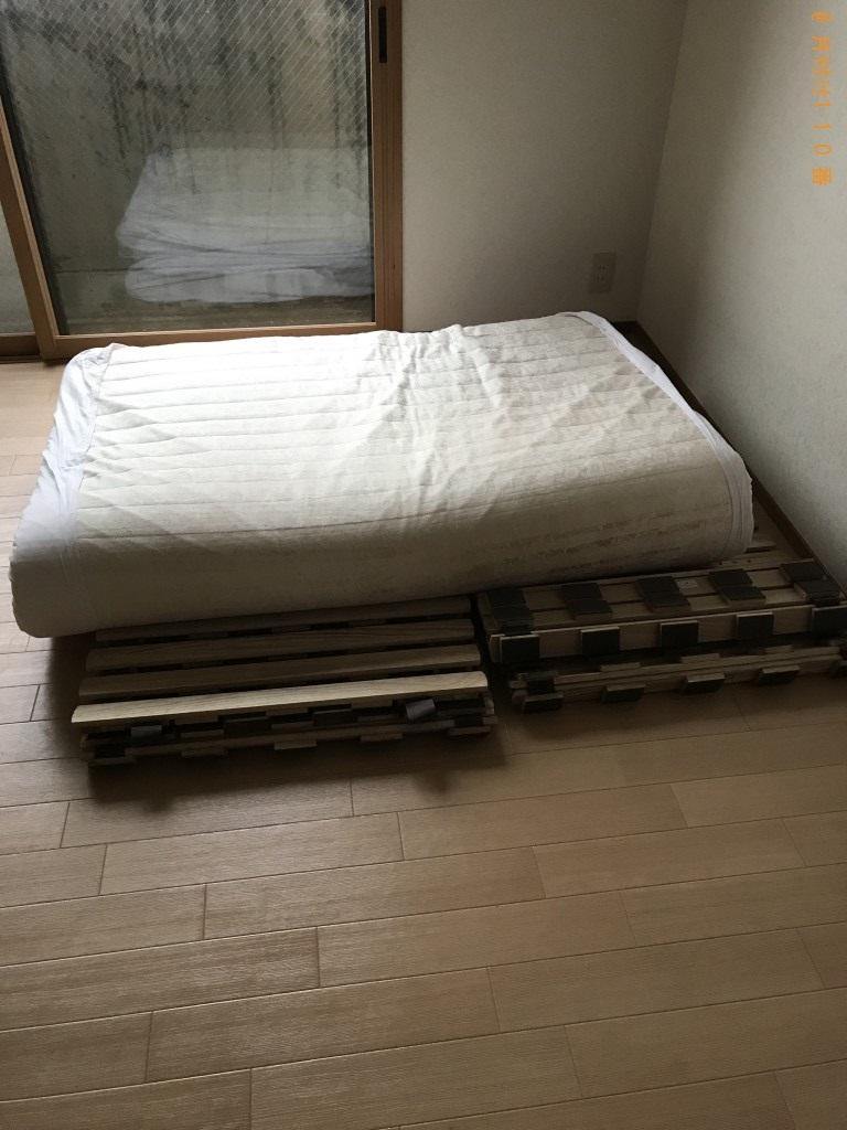 【金沢市】すのこベッド等の出張不用品回収・処分ご依頼 お客様の声
