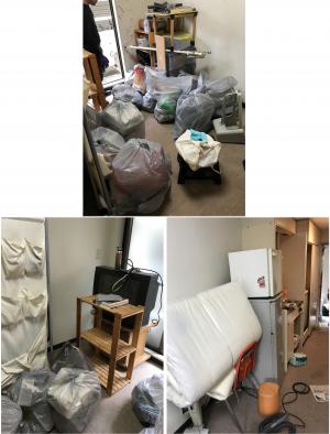 津幡町でお引っ越しに伴う不用品(冷蔵庫、テレビ、洗濯機など)の回収のご依頼 お客様の声
