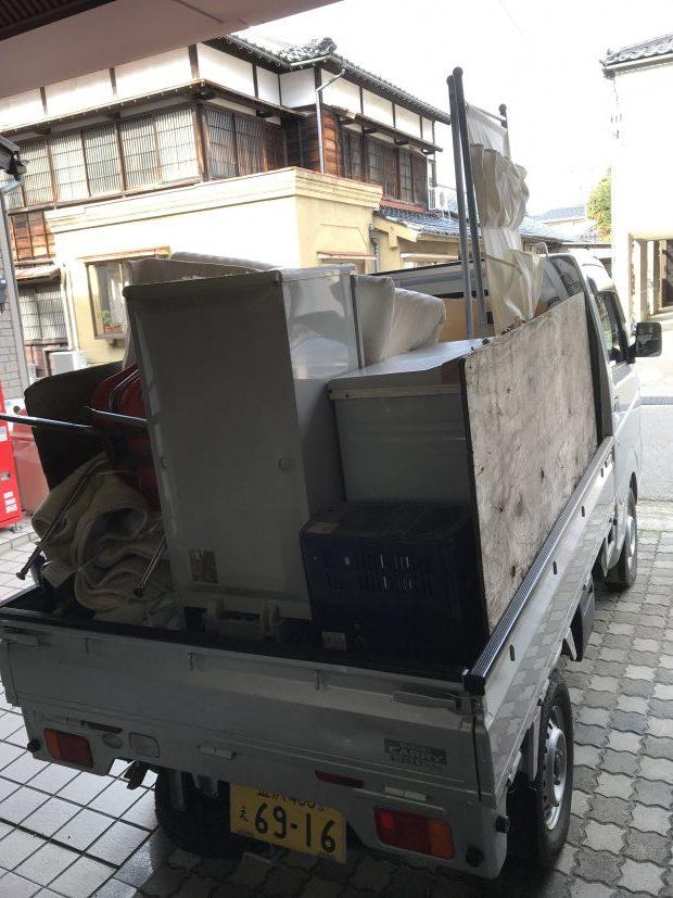 【金沢市】お引っ越しに伴う不用品回収☆「WEB割引」の適用で料金が安くなりお喜びいただけました!
