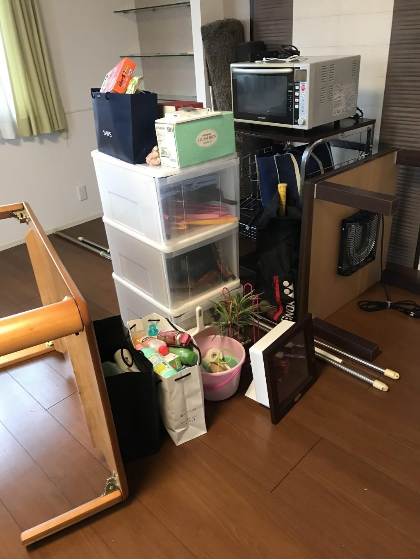 【金沢市】ダブルベッドなど2tトラック一台程度の不用品回収☆迅速な対応、サービスに満足していただきました!