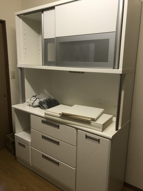 【白山市】食器棚の出張不用品回収・処分ご依頼 お客様の声