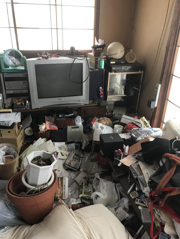 【金沢市中央通町】2t1台分のごみの回収・処分 お客様の声
