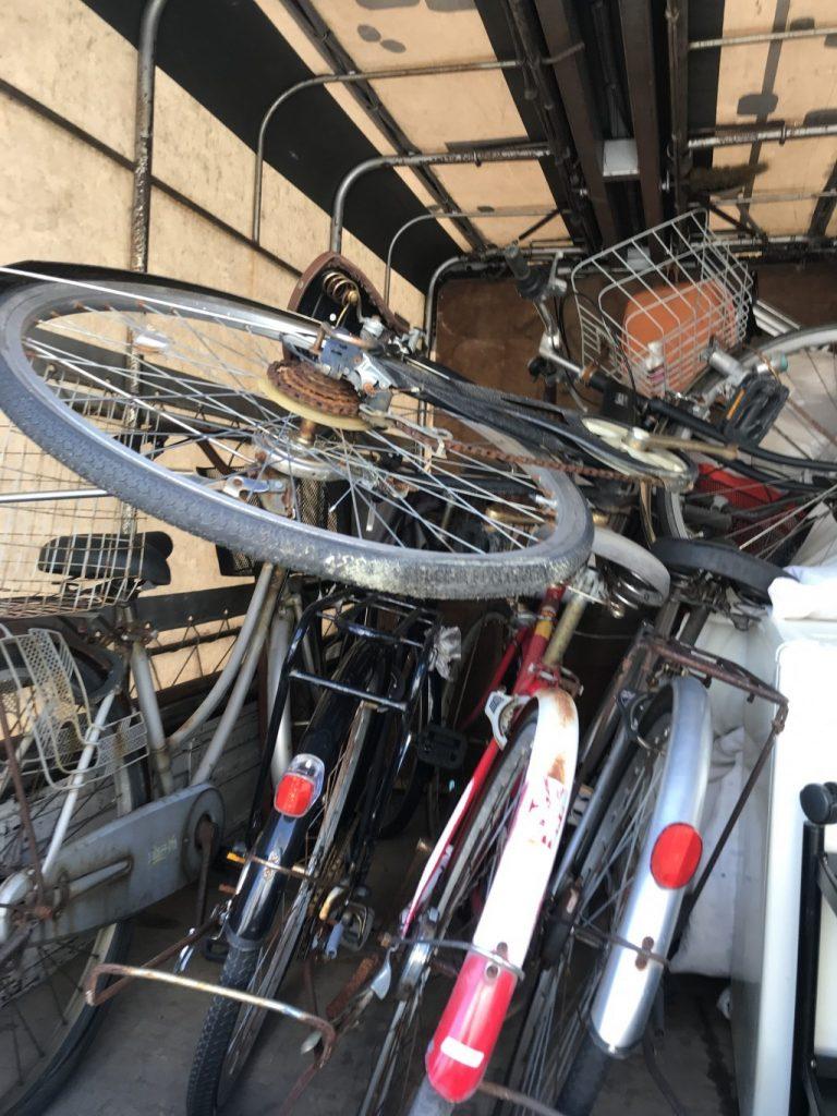 【大石田町】自転車5台の出張回収・処分ご依頼 お客様の声