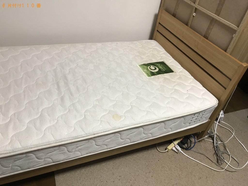 【大台町】シングルベッドの出張回収・処分ご依頼 お客様の声