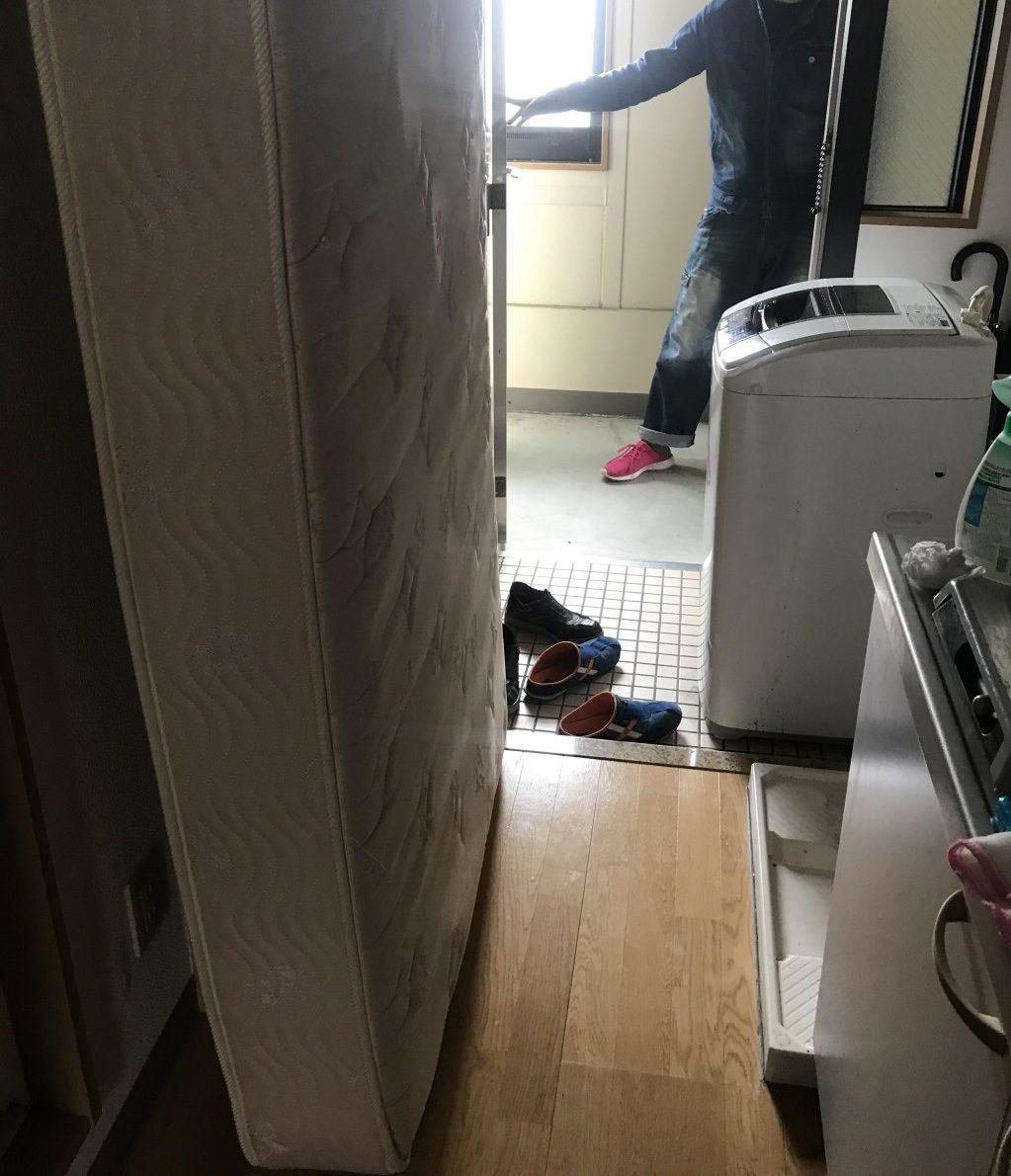 【喜多方市】洗濯機、マットレス等の処分 お客様の声