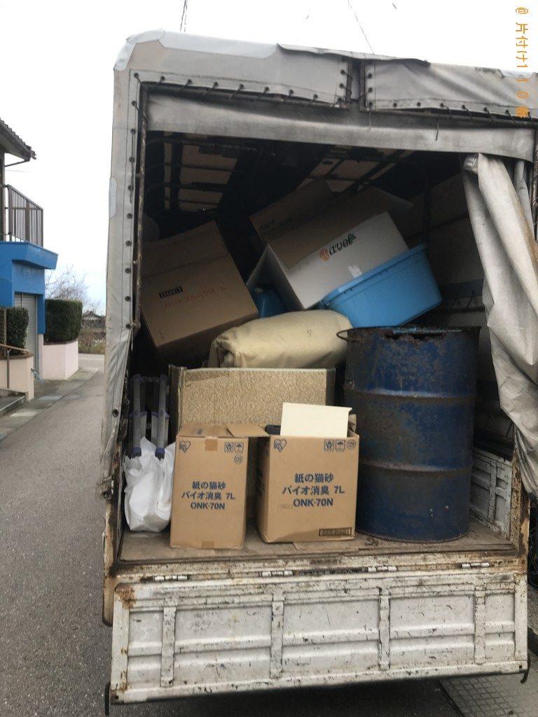 【かほく市】かほく市】ソファーベッド、敷布団、カーペット等の回収・処分