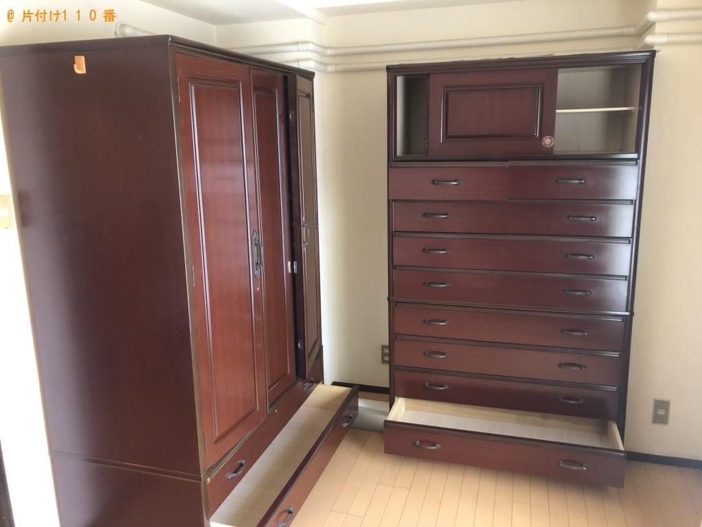 【金沢市】タンス、下駄箱、リビングボードの回収・処分ご依頼