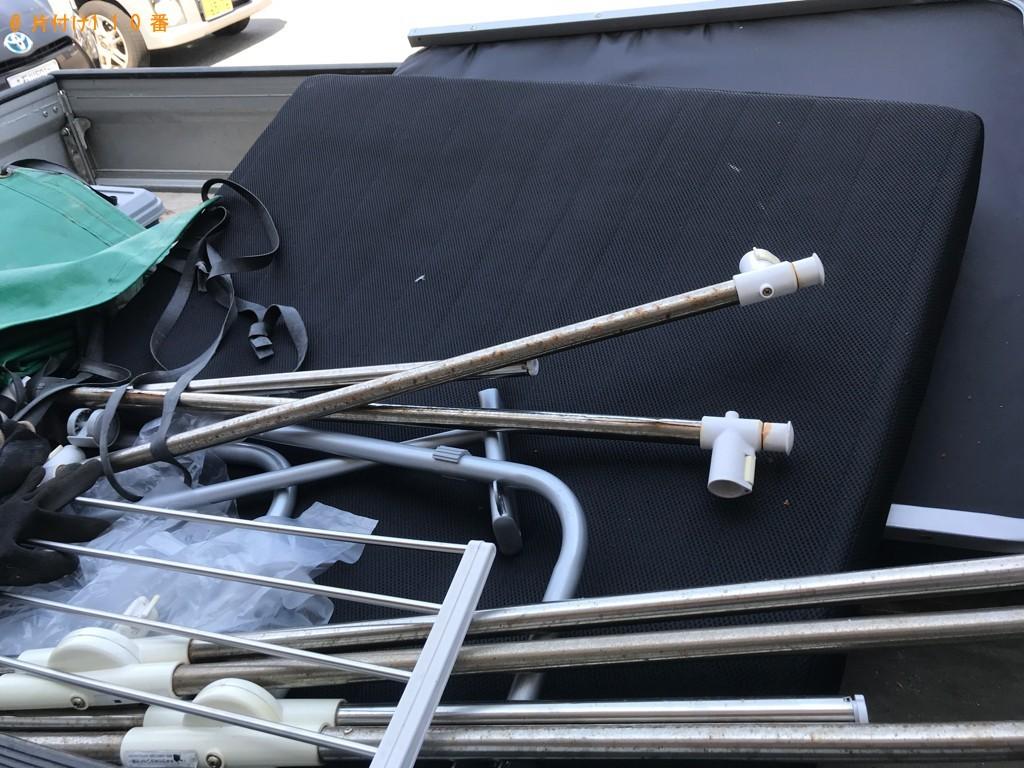 【野々市市】ウレタンマットレス、折り畳みベッドの回収・処分ご依頼