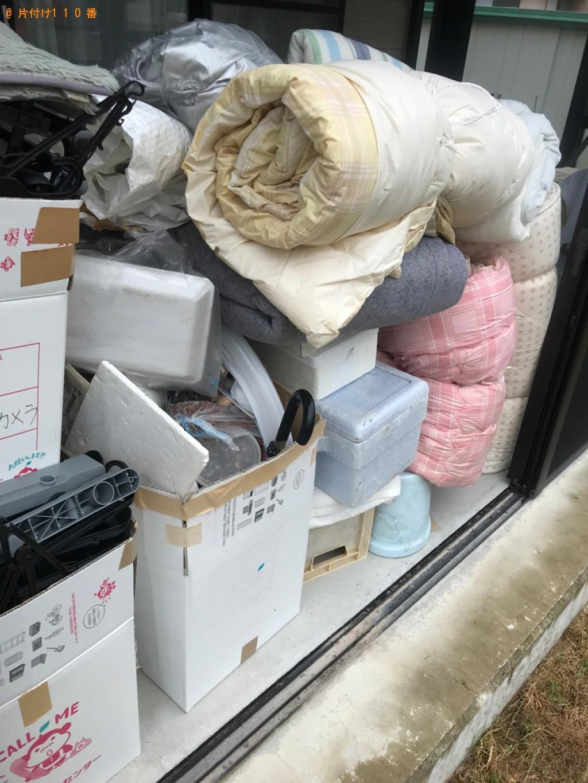 【金沢市】軽トラック1台程度の出張不用品回収・処分ご依頼