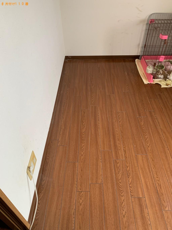 【金沢市】シングルベッド、ベッドマットレス、はしご等の回収・処分