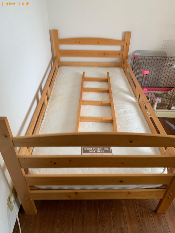 【金沢市】シングルベッド、ベッドマットレス、はしご等の回収・処分【金沢市】シングルベッド、ベッドマットレス、はしご等の回収・処分