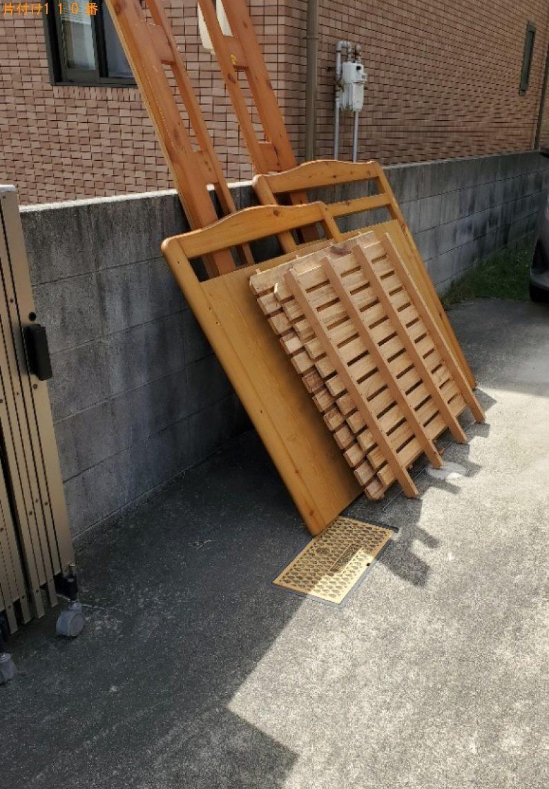 【金沢市】ロフトベッドの回収・処分ご依頼 お客様の声