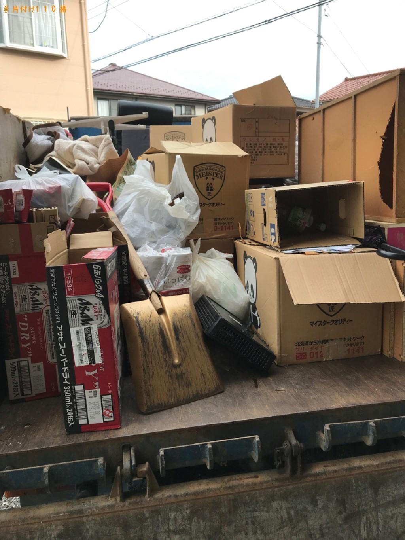 【西郷村】2tトラック1台程度の出張不用品回収・処分ご依頼