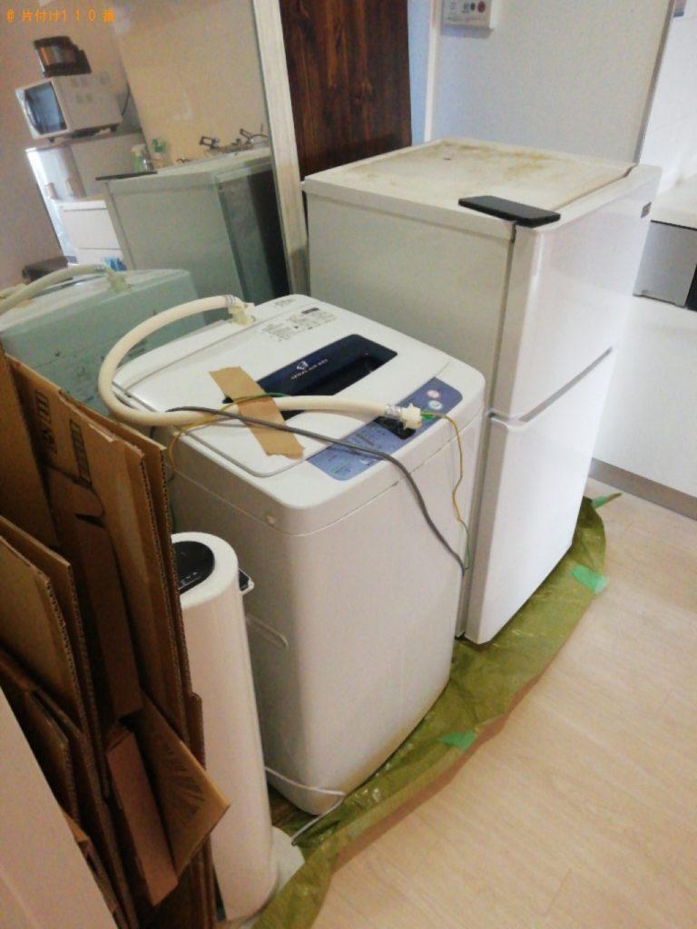 【七尾市】遺品整理に伴い冷蔵庫、洗濯機、小型家電の回収・処分ご依頼 お客様の声