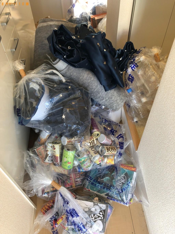 【金沢市】カーペット、ヘルメット、一般ごみ等の回収・処分ご依頼