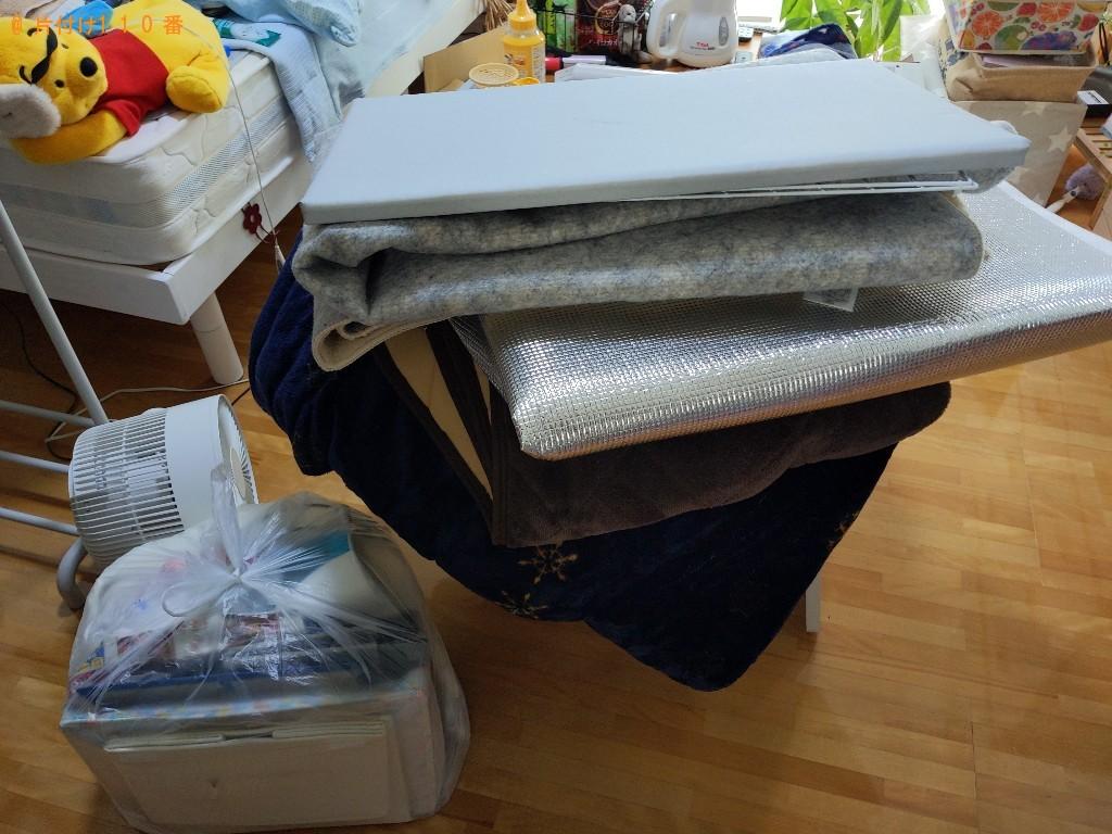 【白山市】こたつ、タンス、こたつ布団、敷布団等の回収・処分ご依頼