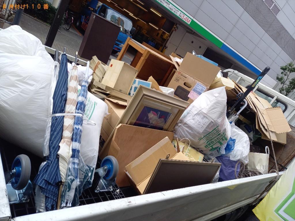 【金沢市】四人用ダイニングテーブル、金庫等の回収・処分ご依頼