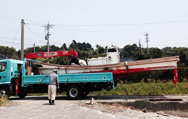 【穴水町】和船の解体撤去、回収作業のご依頼