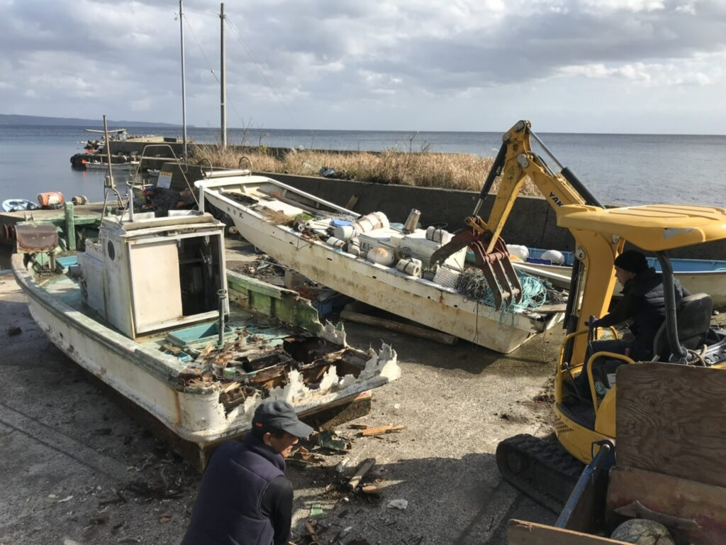 石川県船舶回収処分・実績豊富・見積もり無料・明朗会計で安心