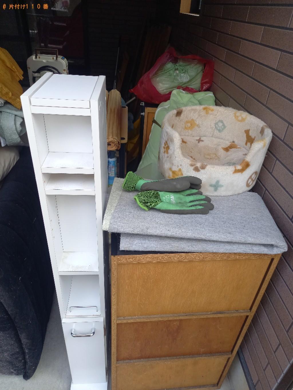 【金沢市】ソファー、布団、カラーボックス、ペット用品等の回収