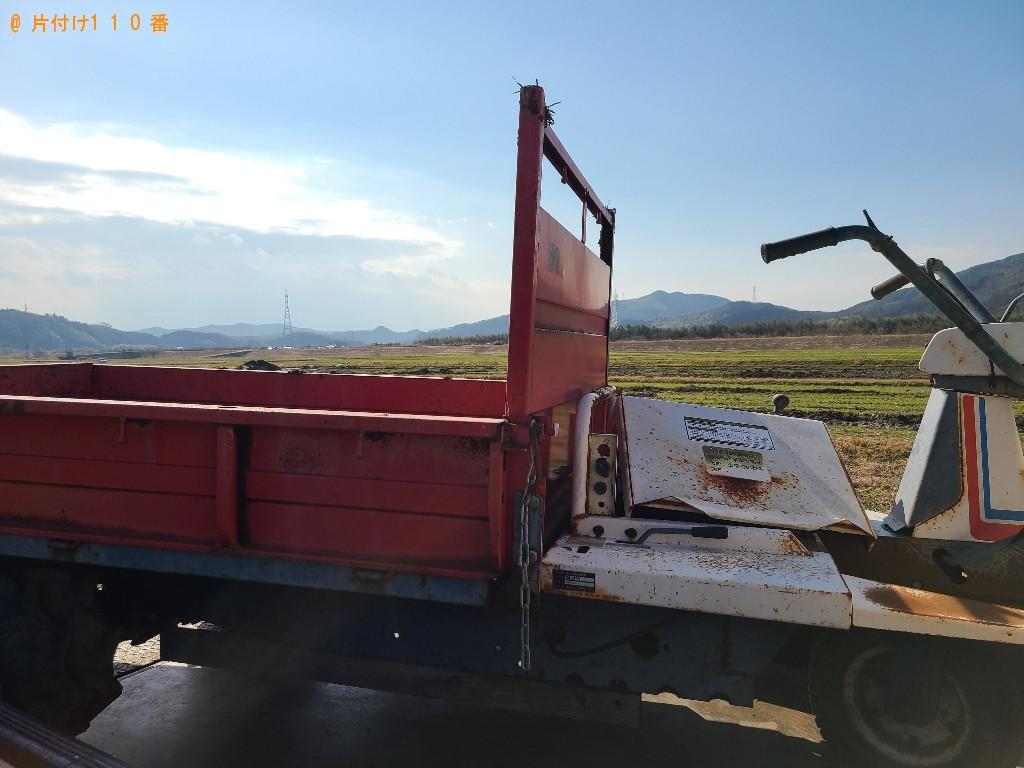 【金沢市】農機具、庭石等の回収・処分ご依頼 お客様の声