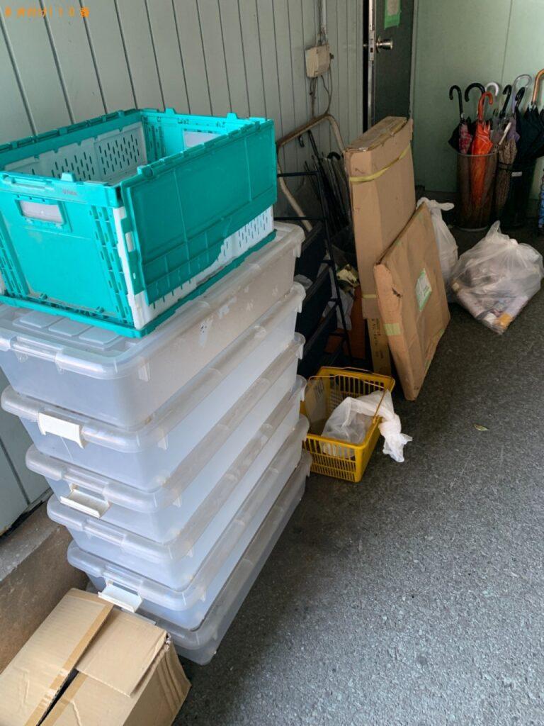 【金沢市】収納ケース、椅子、カゴ、一般ごみ等の回収・処分ご依頼