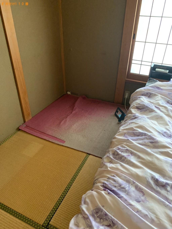【金沢市】椅子、学習机、タンスの回収・処分ご依頼 お客様の声
