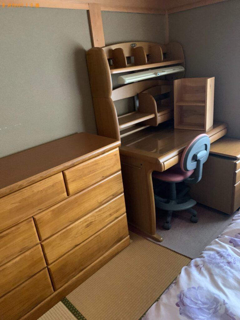 椅子、学習机、タンスの回収・処分ご依頼 お客様の声