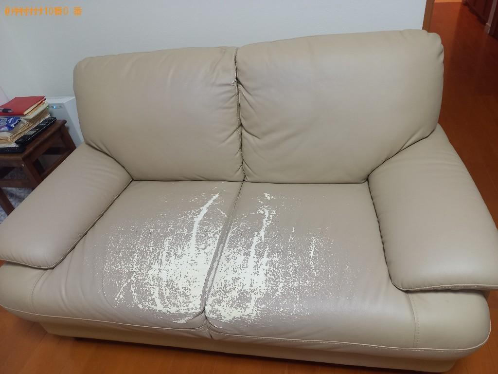 【金沢市】二人掛けソファーの回収・処分ご依頼 お客様の声