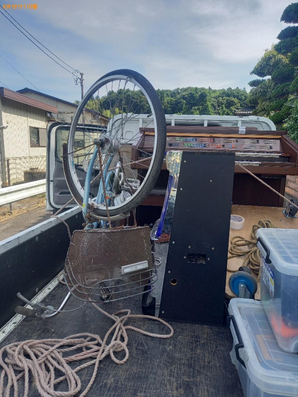 自転車、パチスロ機の回収・処分ご依頼 お客様の声