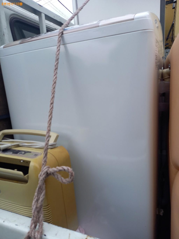 洗濯機、二人用ダイニングテーブル、二人用ソファー、ミシンの回収